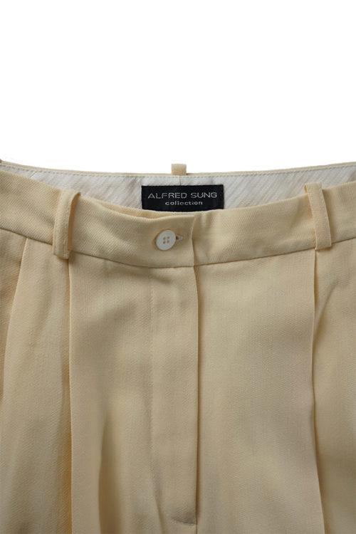 Summer Wool Straight Pants