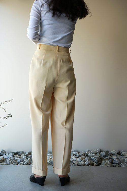 Summer Wool Straight Pants