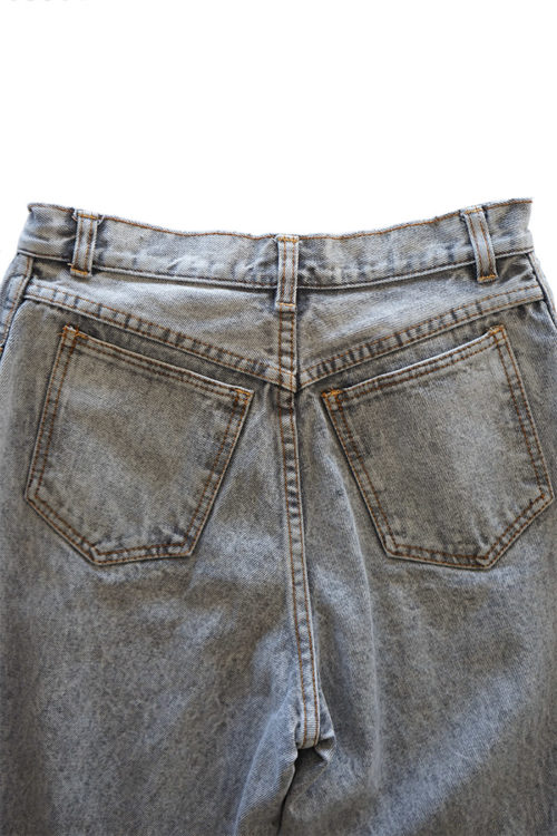 Bleached Tapered Jeans