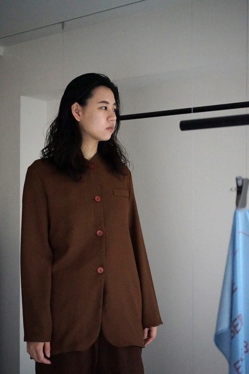 Mao Collar Jacket