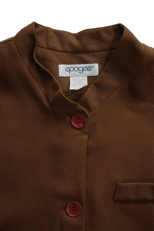 Mao Collar Jacket