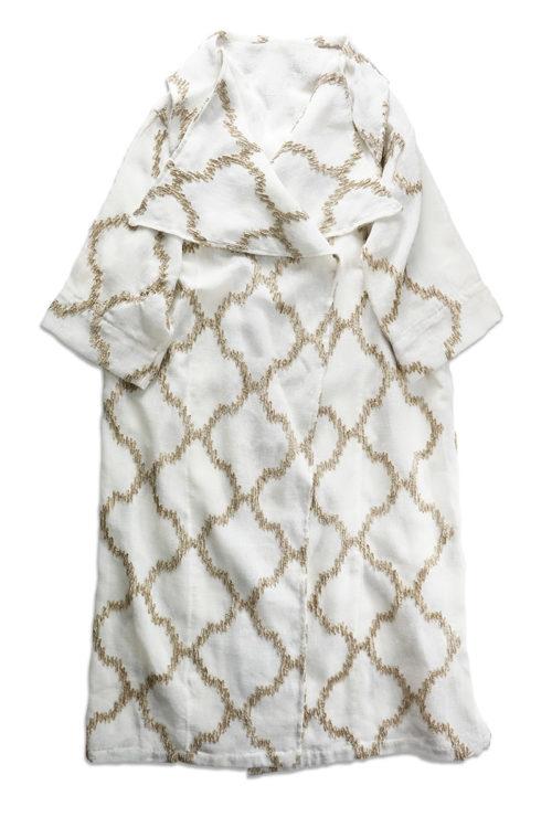 Handmade Geometric Pattern Embroidery Jacket