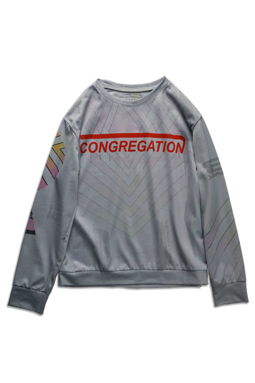 Up-cycled Printed Long Sleeve T-Shirt
