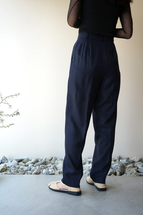 Rayon Tapered Pants