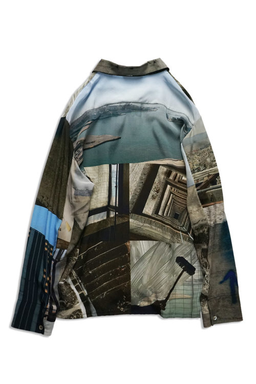 PIRAEUS TOWER Silk Shirt
