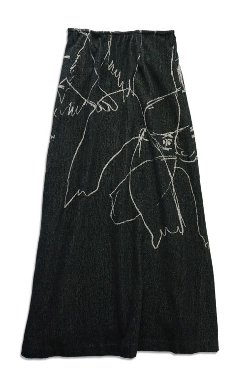 Crew Sketches Jacquard Skirt