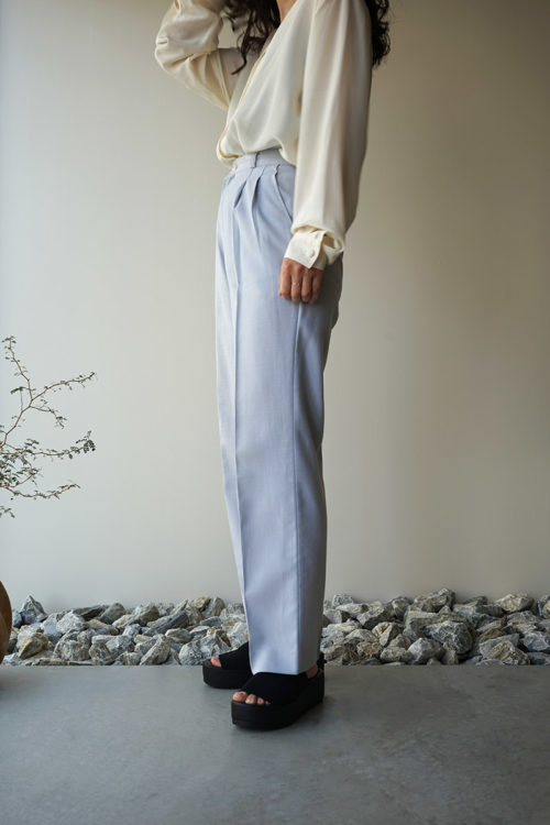 Straight Silhouette Pants