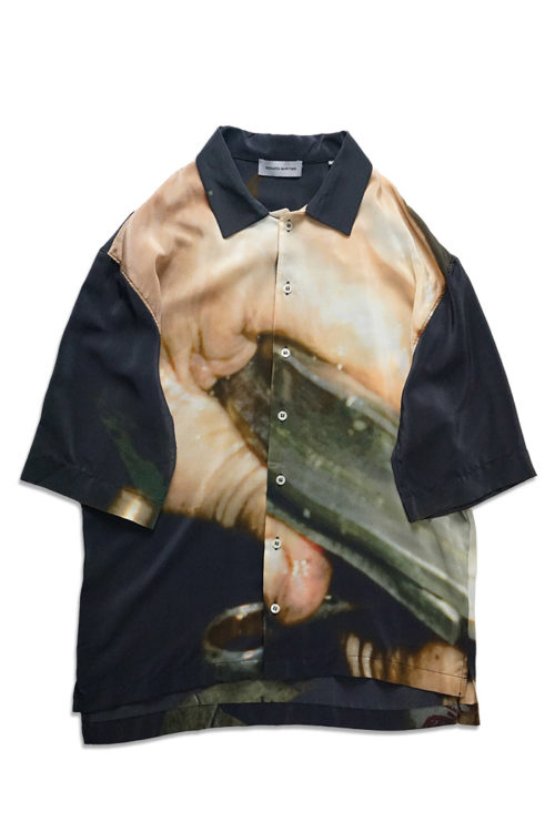 GREASE HANDS Silk Shirt