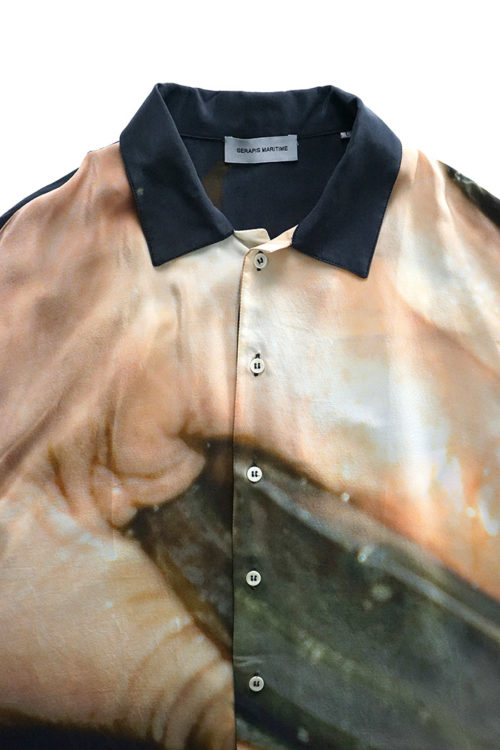 GREASE HANDS Silk Shirt