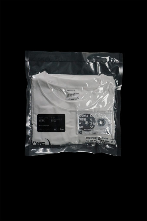 "AC001 ""Cassette tape and T-shirts"""