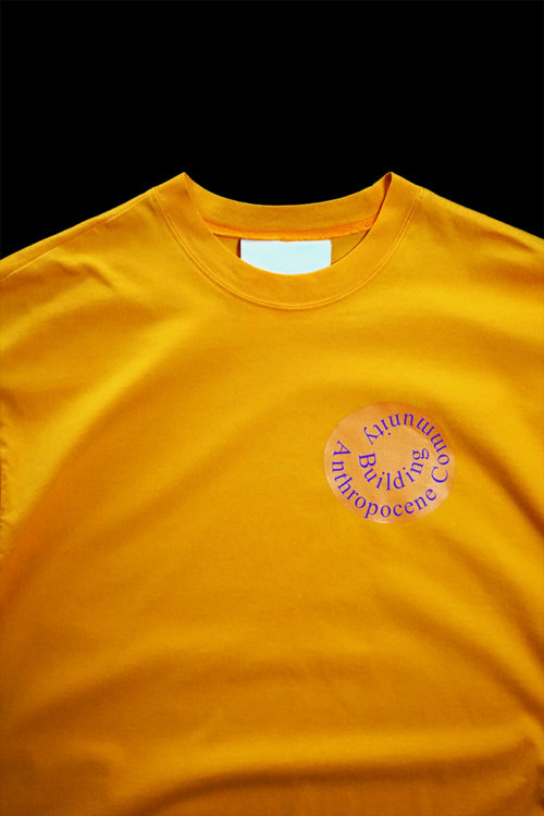 Anthropocene Community Building T-shirts