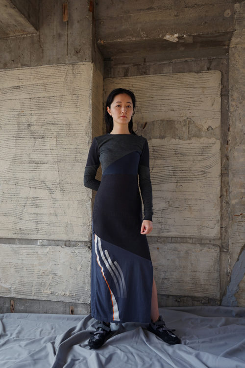 Reconstructed Split Dress