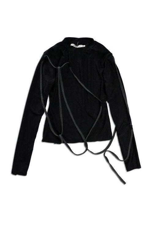 String Detail Long Sleeve