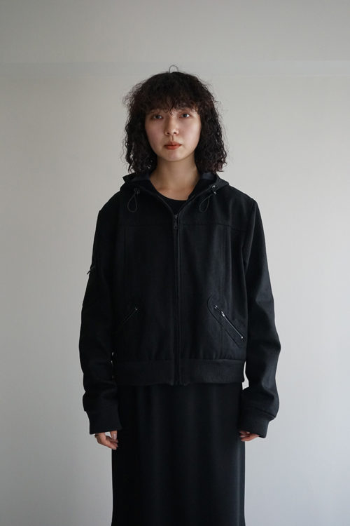 'OMONOIA MULE' JACKET BLACK