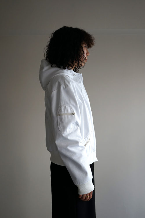 'OMONOIA MULE' JACKET WHITE