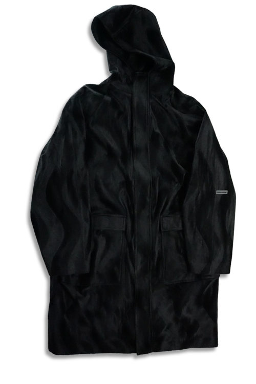 Black Waves Parka
