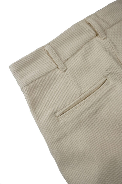 Shashiko Trouser - Cream