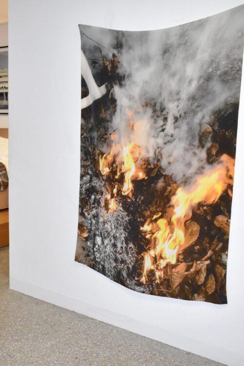 Fire Silk Hanging