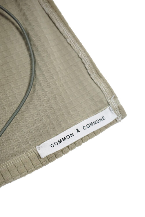 Fleece Split String Top