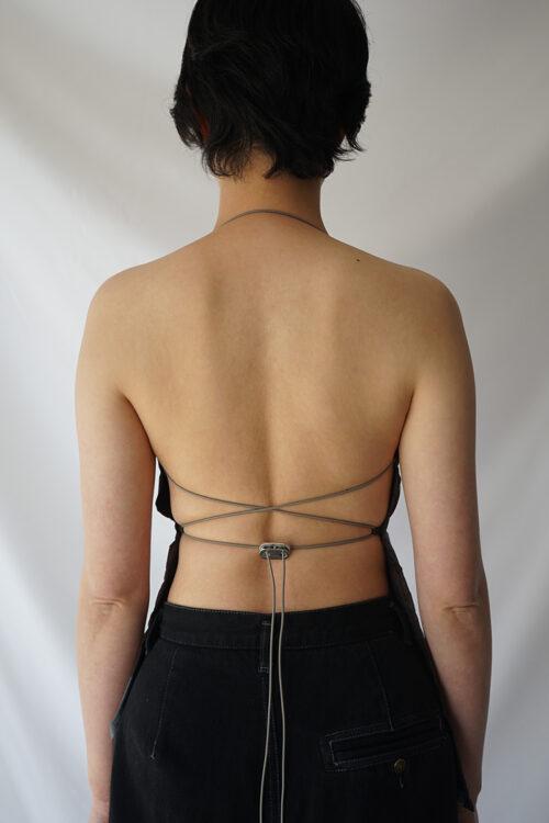 Split String Top - Multi Color