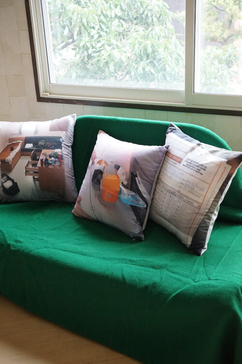 """INVOICE"" Pillow"
