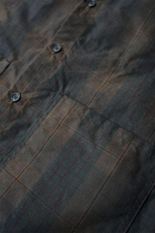 Waxed Tartan Caddie Jacket